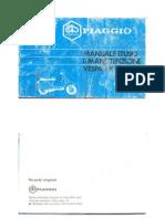 Manuale Uso Manutenzione vespa PX 125 T5