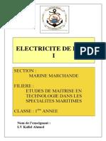cours électricité de bord I 1MTEM