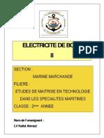 cours électricité de bord II