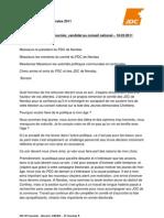 JDCVR Fournier - discours 180301