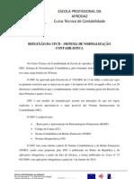 REFLEXÃO DA UFCD – SISTEMA DE NORMALIZAÇÃO CONTABILISTICA