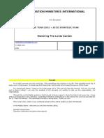 CM Strategic Plan 2011 - 2015 Submit