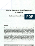 uses and gratfications theory-Review