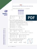 MAT10 - Testes 5+5, Texto