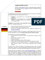 Conditiile de Calatorie in Republica Federala Germania-2