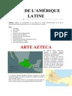 EC2 CM Arts de l'Amérique Latine
