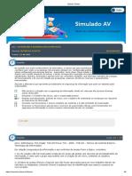 Simulado AV - 01