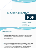 FINAL MICROFABRICATION