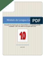 10º L. CASTELLANA # 1 - 2° PERIODO