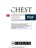 Bronchiectasis in Systemic Disease - Chest