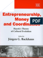Backhaus ed. - Entrepreneurship, Money and Coordination ~ Ha