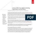 The 21st-Century CMO How Digital Marketing is Driving Organization Transformation