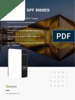 Brochure  SPF 3500-5000-ES Growatt