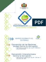 Proyecto Reforma Estructural del Estado Paraguayo (Presentacion Tania Iturry, Bolivia) Abril 2011