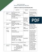 Tentatif Program Minggu Sains & Matematik