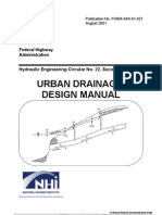 urban drainage design manual