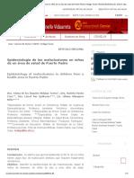 Epidemiología de las maloclusiones en niños de un área de salud de Puerto Padre _ Hidalgo Torres _ Revista Electrónica Dr. Zoilo E. Marinello Vidaurreta