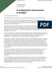 ¿Dónde está la indignación internacional frente a Daniel Ortega_