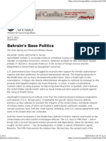 Bahrain's Base Politics