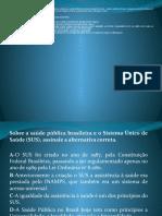 ATIVIDADES CURSO DE AGENTE DE SAUDE