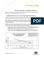 Optimization Example Centrifugal Compressors