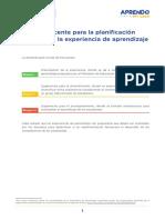 Matematica (3- 4) - Guia de Planificacion Experiencia de Aprendizaje 7 Ccesa007