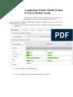 Compilez votre application Windev Mobile 22 dans IOS avec la dernière Xcode