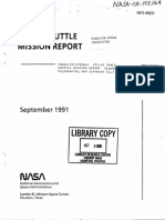 STS-43 Space Shuttle Mission Report