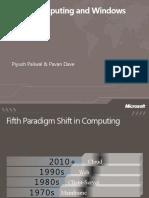 Cloud computing and Windows Azure
