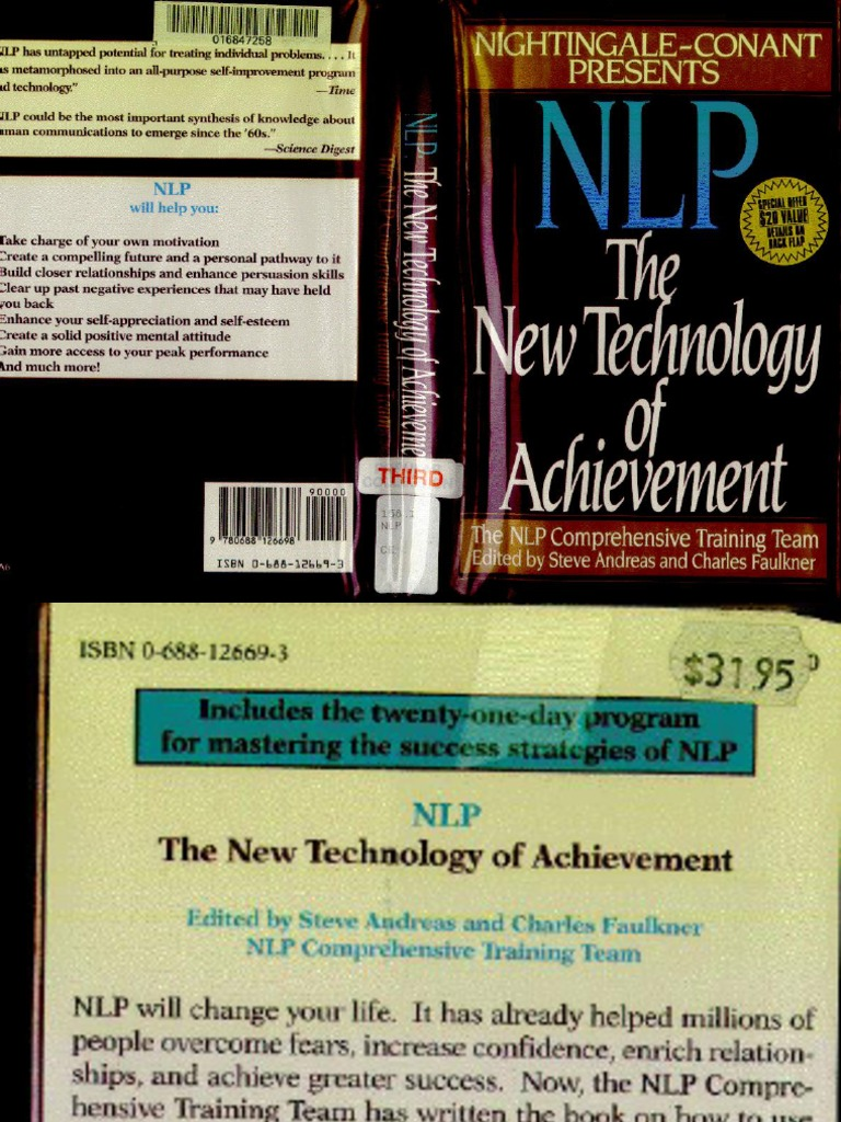Charles Faulkner & Steve Andreas Nlp The New Technology Of Achievement