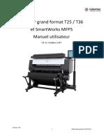 T36 Scanner and SmartWorks MFP5 User Manual FR