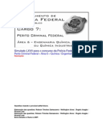Simulado LXVII - PCF Área 6 - PF - CESPE