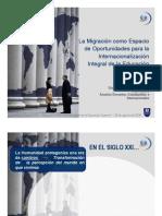 Las Migraciones y la Internacionalizacion en la Educ_Sup