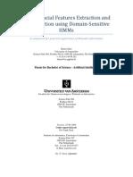 Human Facial Features Extraction and Classification using Domain-Sensitive Domain Sensitive HMMs