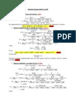 Solution Examen 2014