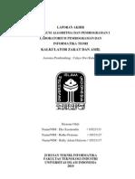 Laporan Program Kalkulator Zakat dan Amil