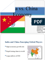 china vs india final ppt