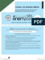 Simulado 6⁰ SAS 2020 - 2⁰ DIA