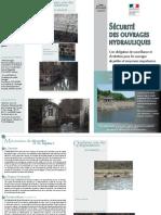 8 - Plaquette_Securite Des Ouvrages Hydrauliques - Obligation de Surveillance Et d'Entretien Pour Les Ouvrages de Petites Et Moyennes Importances