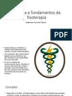 História e fundamentos da fisoterapia