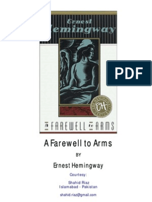 Super A Farewell To Arms By Ernest Hemingway Nature Pdpeps Interior Chair Design Pdpepsorg