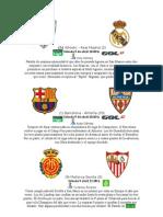 Jornada 31 Liga Bbva y Jornada 33 Liga Adelante