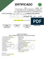 CERTIFICADO NR 10 - Sugetão