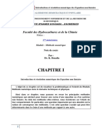 CH.1. Méthode Numérique (1)
