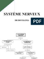 SYSTÈME NERVEUX DR BOURAIMA