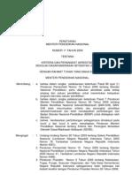 Salinan Permen 11 Thn 2009 Ttg Akreditasi Sd-mi