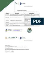 Programa Inducción