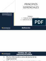 Presentación principios de gerenciales clase 1