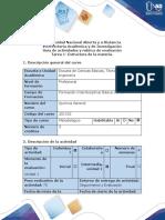 Guía de Actividades y Rúbrica de Evaluación - Tarea 1 - Estructura de La Materia