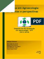 Livro SIMPA Pós-graduação Agroecologia UFV 2019